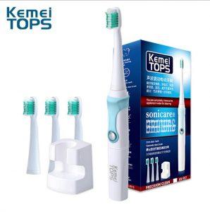 Bàn chải đánh răng điện Kemei