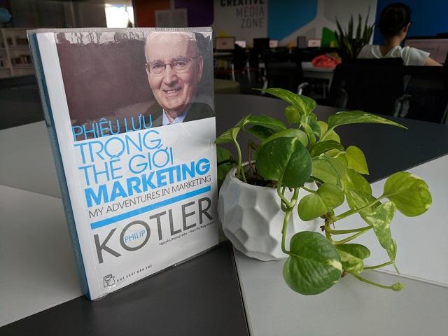 NXB trẻ Phiêu Lưu Trong Thế Giới Marketing Philip Kotler 2017