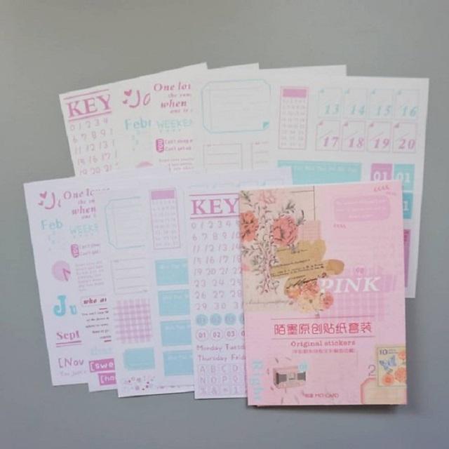 Bad Mood Stationery Sổ Còng/Planner/Bullet Journal A5, A6 Bìa Nhựa Dẻo Trong Suốt