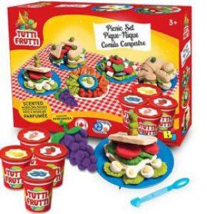 Đất sét tạo hình tutti frutti bữa tiệc picnic