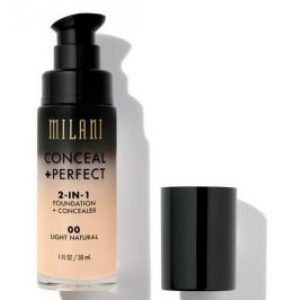 Kem nền milan conceal perfect 2in1 foundation conceal full size 30ml