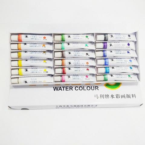 Màu nước dạng tuýp