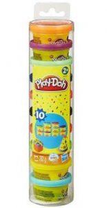 Ống bột nặn 10 màu play doh 22037
