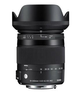 Ống Kính SIGMA 18-200mm F3.5-6.3 DC MACRO OS HSM (Ống Kính Nikon Bayonet)