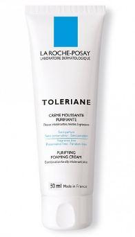 Sữa rửa mặt tạo bọt cho da hỗn hợp & da dầu rất nhạy cảm & kích ứng La Roche-Posay Toleriane Foaming Cream