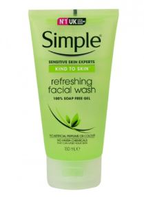 Gel Rửa Mặt Simple Refreshing Facial