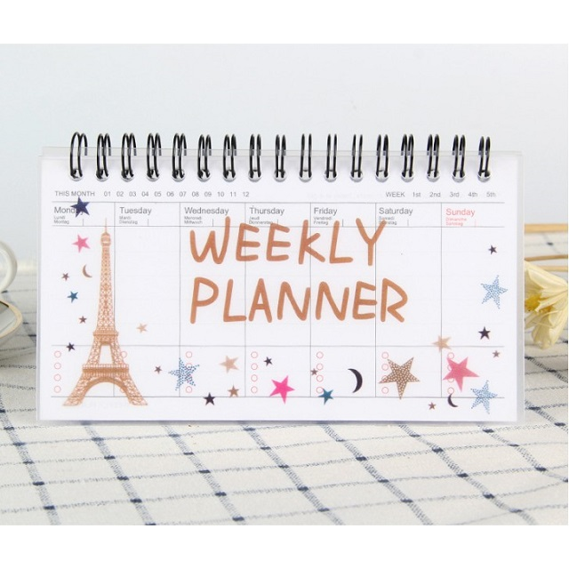 Sweet Berry House Sổ Kế Hoạch Tuần Weekly Planner