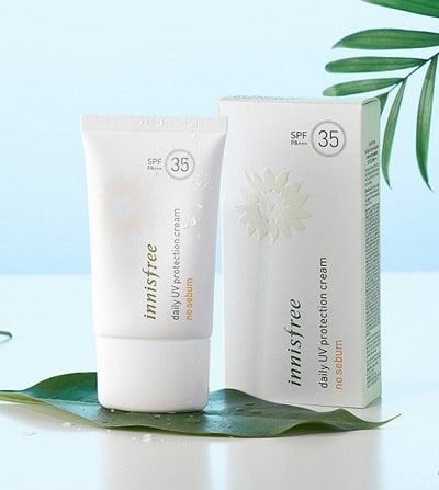 Kem chống nắng Innisfree Daily UV protection cream no Sebum spf35 pa+++