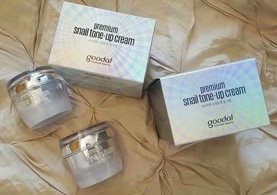 kem ốc sên Hàn Quốc