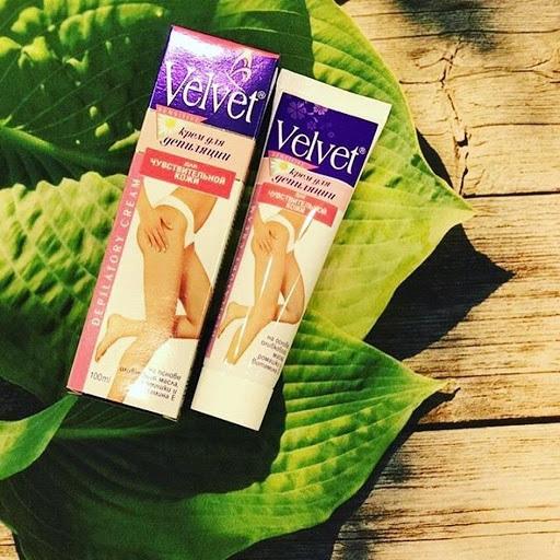 kem tẩy lông Velvet 2