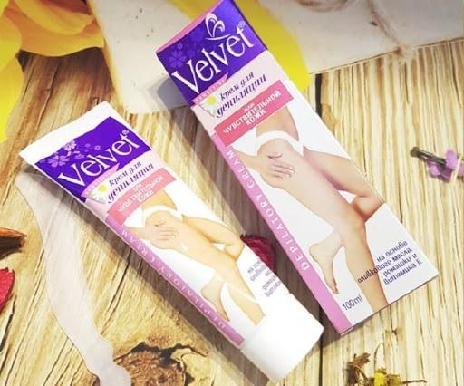 kem tẩy lông Velvet 3