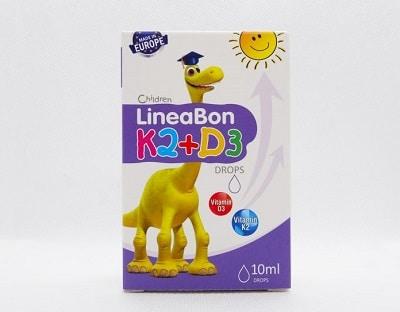 sản phẩm Lineabon Vitamin D3 + K2 Tăng Chiều Cao cho bé 4