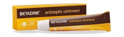Thuốc điều trị viêm nang lông Betadine Ointment