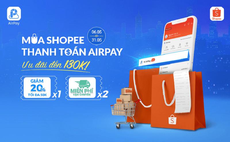 Ví Airpay là gì? Cách liên kết AirPay với Shopee để nhận ƯU ĐÃI khi mua hàng