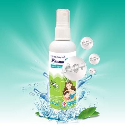 Xịt chống muỗi cho bé PlasmaKare