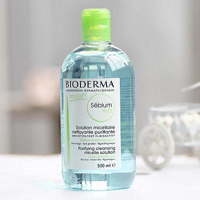 tẩy trang Bioderma xanh